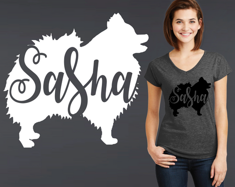 Pomeranian Dog Personalized T-shirt