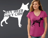 Rat Terrier Dog Hair T-shirt