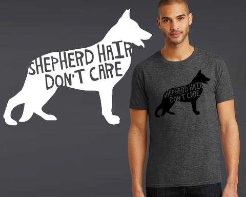 German Shepherd Dog Hair T-shirt