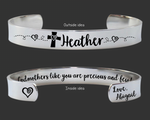 Godmothers Like You Are Precious and Few Bracelet
