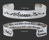 There Is No Better Friend Than a Sister Bracelet | Sister Gift