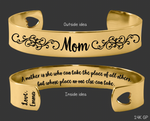 A Mother is she Gold Bracelet | Gift for Mom