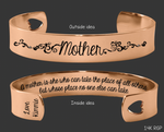 A Mother is she Rose Gold Bracelet | Mother Gifts
