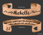 There Comes A Point In Your Life Rose Gold Bracelet