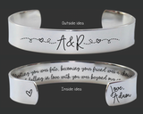 Meeting You Was Fate Bracelet | 11th Anniversary