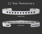 11 Year Anniversary Bracelet | 11th Anniversary Gifts