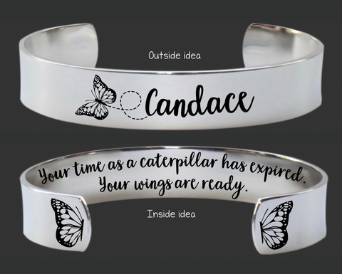 Your Time As a Caterpillar Bracelet