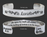 Proverbs 31:26 Bracelet | Teacher Gift