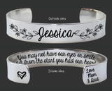 Adopted Daughter Bracelet | Adoption Gift