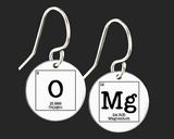 OMG Earrings | Periodic Table of Elements