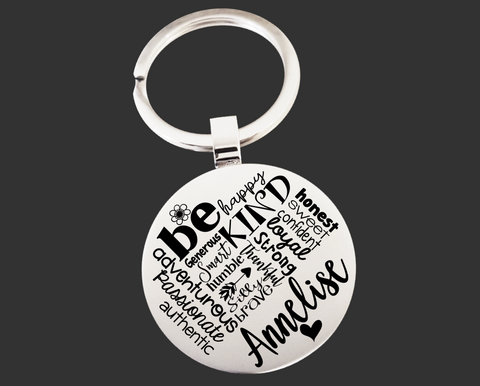 Be Personalized Keychain | Inspirational Gift