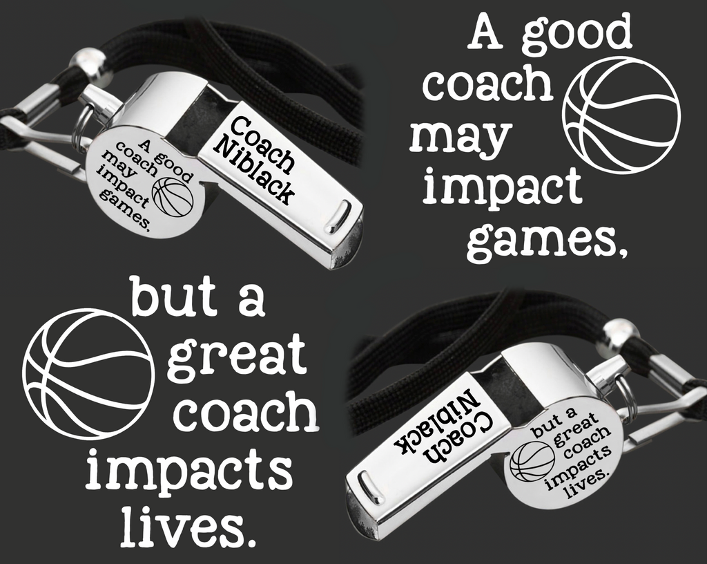 6f56d066a38 Personalized Coach Whistle | Gift for Coach | Personalized Whistles ...