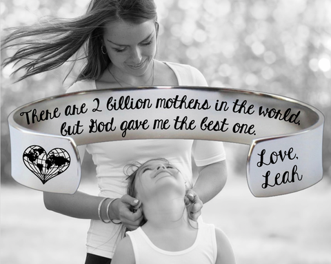 God Gave me the Best One Mother Bracelet | Gift for Mom