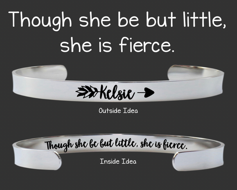 Though She Be But Little She Is Fierce | William Shakespeare