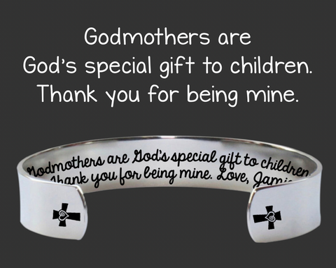 Godmothers Are God's Special Gift Bracelet