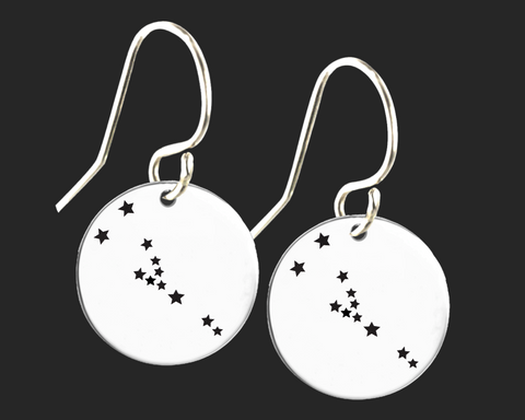 Taurus Constellation Zodiac Earrings | Korena Loves