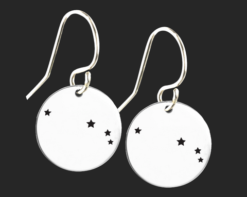 Aries Constellation Zodiac Earrings | Korena Loves