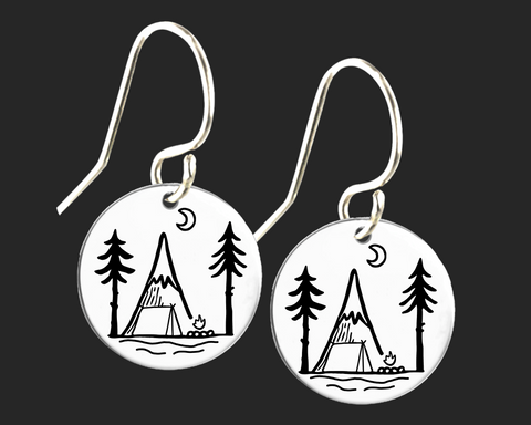 Camping Earrings | Korena Loves