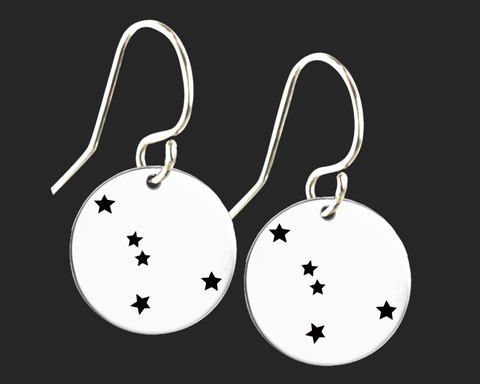Cancer Constellation Zodiac Earrings | Korena Loves