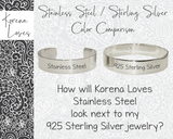 "3/8"" Create Your Own Personalized Bracelet"
