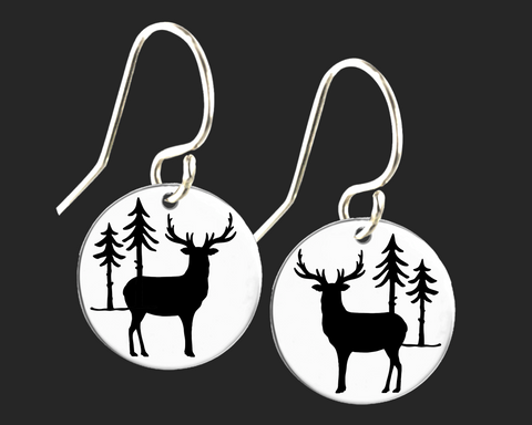 Deer Earrings | Korena Loves