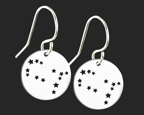 Gemini Constellation Zodiac Earrings | Korena Loves