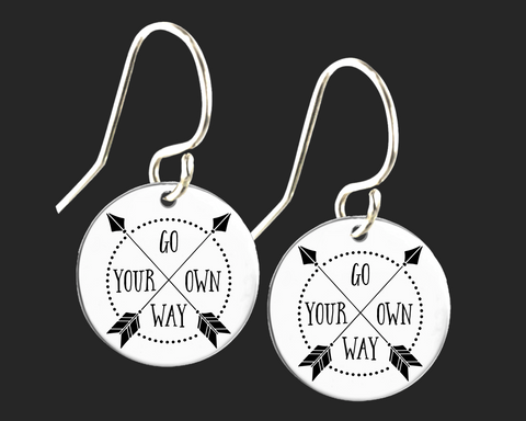 Go Your Own Way Earrings | Korena Loves
