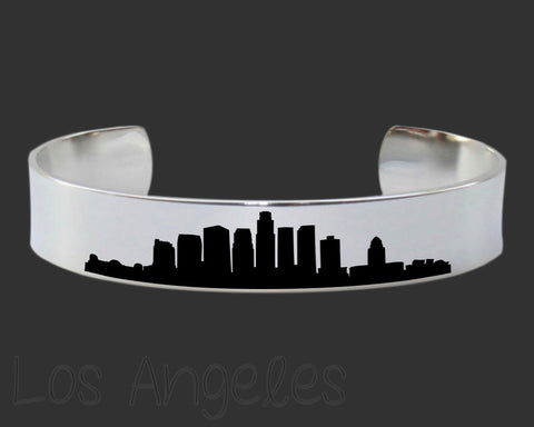 Los Angeles Skyline Cityscape Bracelet