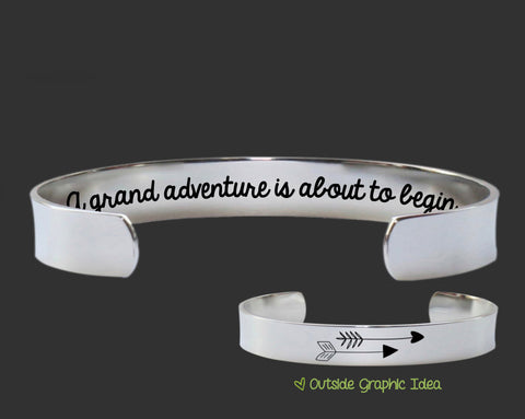 A grand adventure | Going Away Gift