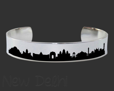 New Delhi Skyline Cityscape Jewelry