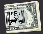Deer Hunter Personalized Money Clip