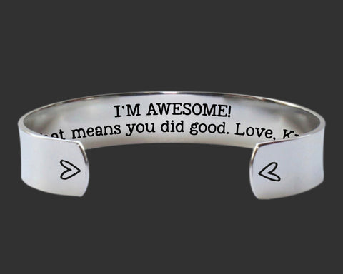 I'm Awesome Bracelet | Gift for Mom