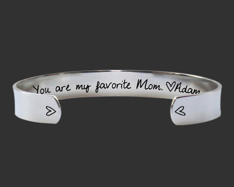 You Are My Favorite Bracelet | Gift for Mom
