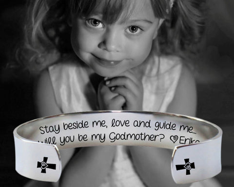 Will You Be My Godmother Bracelet | Godmother Gift