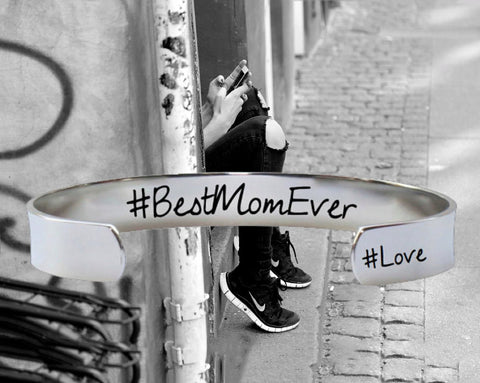 #BestMomEver Bracelet | Mother Gift