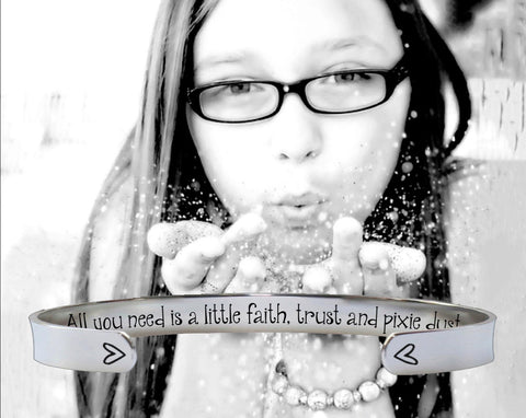 All you need is a little faith | Inspirational Quotes
