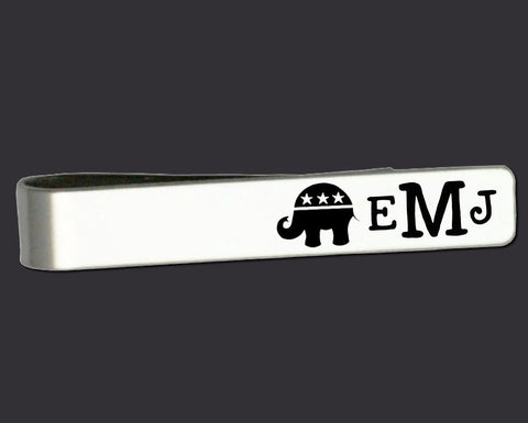 Republican Personalized Tie Bar