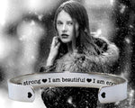 I Am Enough Bracelet | Inspirational Jewelry