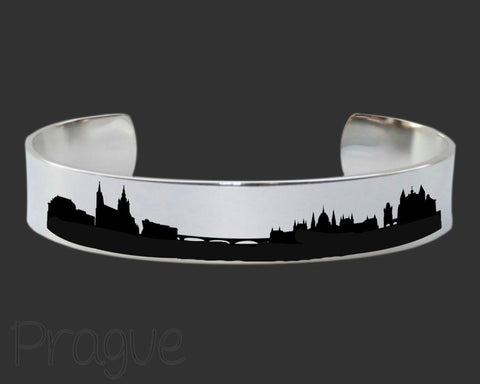 Prague Skyline Cityscape Jewelry
