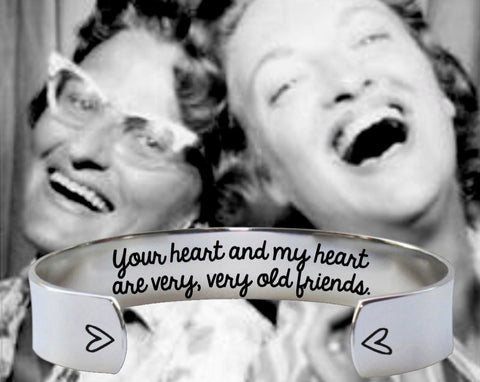 Your Heart and My Heart Bracelet | Friend Gifts