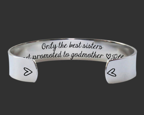 Only the Best Sisters Get Promoted to Godmother | Sister Gift