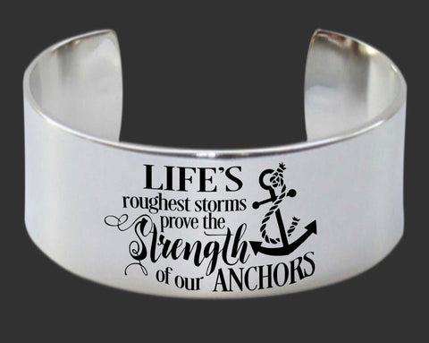 Life's Roughest Storms Bracelet