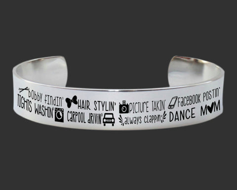 Dance Mom Bracelet | Mother Gift