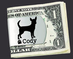 Chihuahua Personalized Money Clip