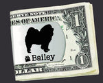 Chow Chow Personalized Money Clip