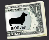 Corgi Personalized Money Clip
