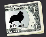 Shetland Sheepdog Personalized Money Clip
