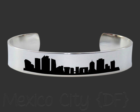 Mexico City DF Skyline Cityscape Jewelry