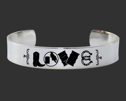 Barrel Racer Love Bracelet