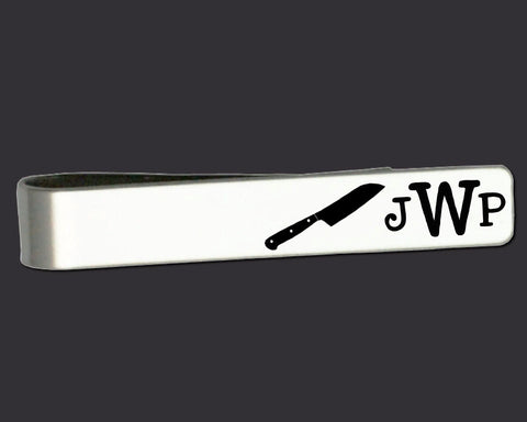 Chef Personalized Tie Bar